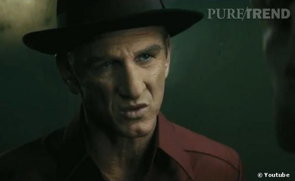 Sean Penn joue le grand méchant de l'histoire : Mickey Cohen.