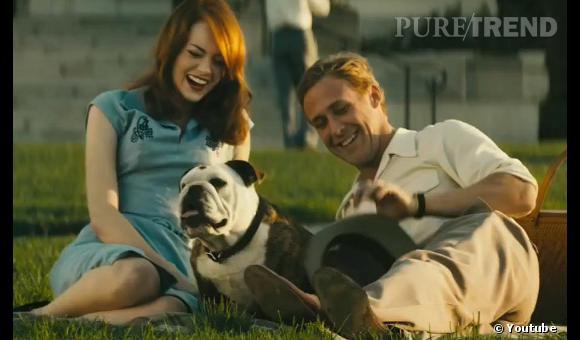 """Emma Stone et Ryan Gosling jouent de nouveau ensemble dans """"Gangster Squad""""."""