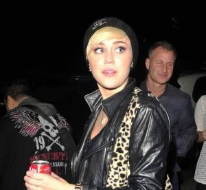 Miley Cyrus, drôle de look !