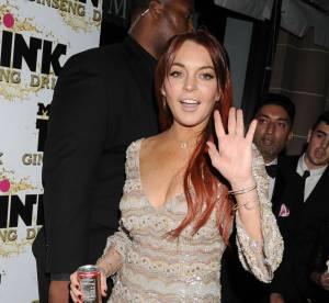 Lindsay Lohan : retour au rouge pour l'actrice de Liz and Dick à Los Angeles
