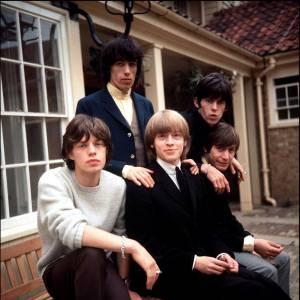 Les Rolling Stones en 1964.