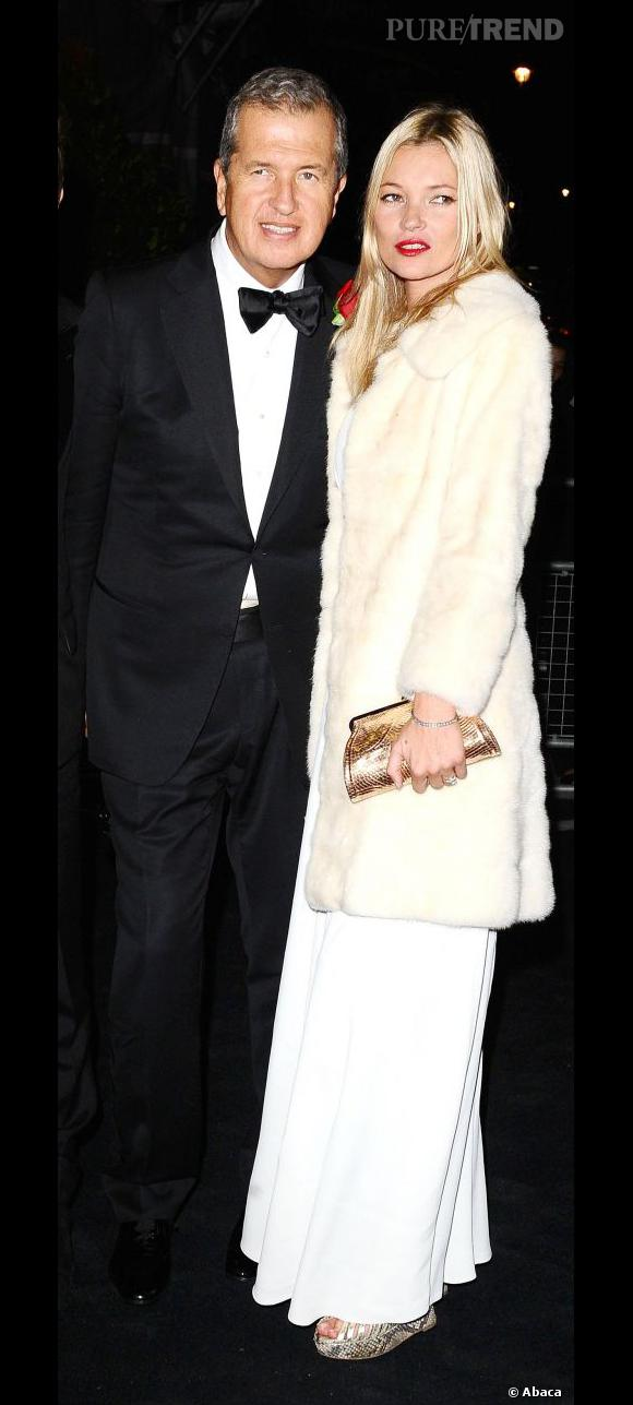 Mario Testino et Kate Moss