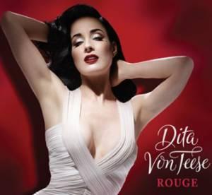 Dita Von Teese : un decollete a tomber pour le nouveau parfum de la vamp sexy