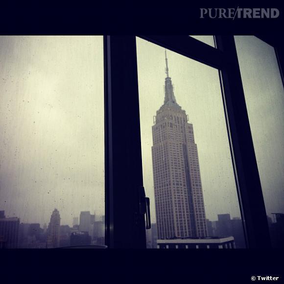 Poppy Delevingne poste une photo de la vue depuis son immeuble.