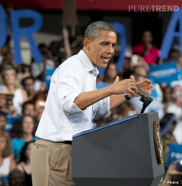 Un style casual : Barack Obama sait aussi en faire moins pour en dire plus. Pas besoin d'être toujours sur son 31 !