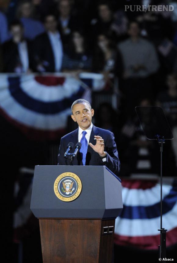 Barack Obama a été élu pour un deuxième mandat ! Présentation de ses indispensables...