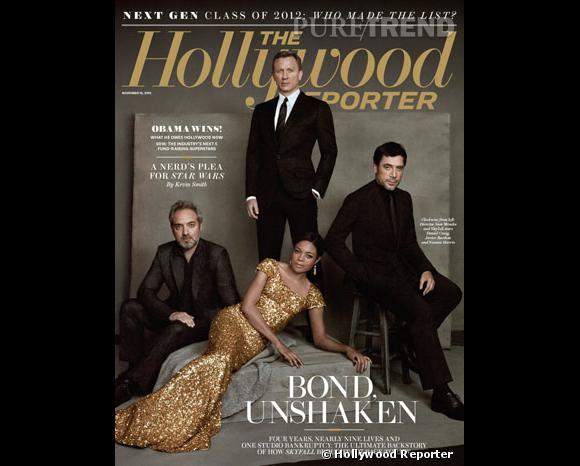 """Pour la sortie de """"Skyfall"""" aux États-Unis, le magazine Hollywood Reporter raconte le sauvetage du 23ème volet de la saga."""