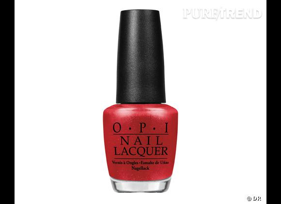 Vernis The Spy Who Loved Me d'OPI, 13,90 €.