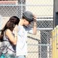 Justin Bieber et Selena Gomez, cible favorite des paparazzis.