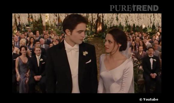 Point culminant de la saga, le mariage de Bella et Edward nous rend un peu nostalgique.