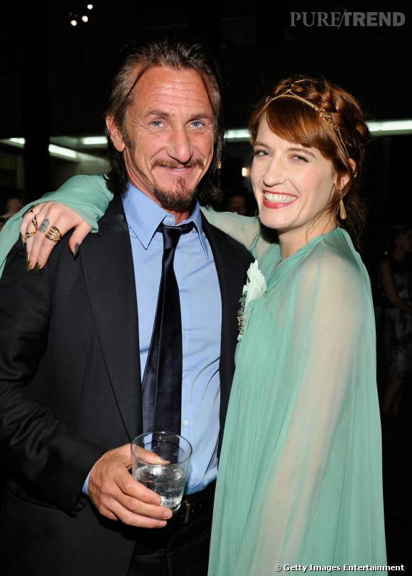Sean Penn 52 ans, en couple avec Florence Welch, 26 ?