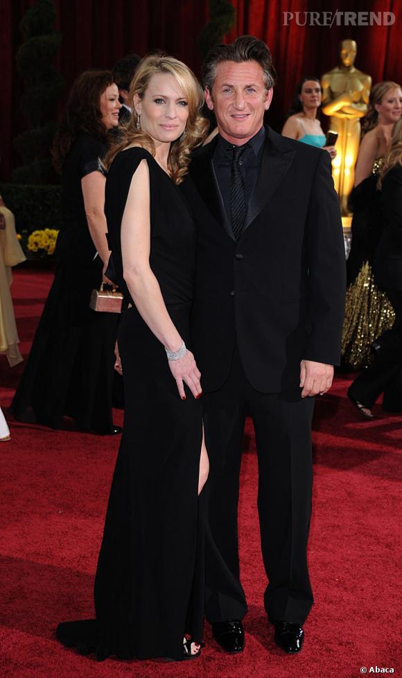 Sean Penn et Robin Wright : une longue histoire. De 1990 à 2009, le couple s'est aimé puis séparé en tout et pour tout cinq fois. Parents de deux enfants, ils se sont officiellement séparés suite aux infidélités de Monsieur.