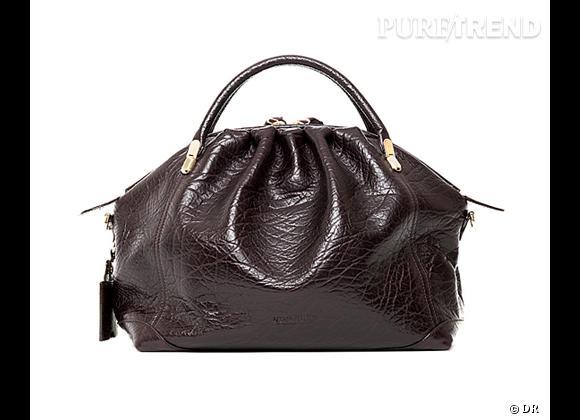 Le sac  La Rue  signé Nina Ricci version raisin noir