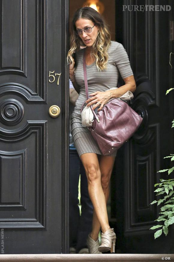 Le sac  La Rue  signé Nina Ricci est aussi l'it-bag de Sarah Jessica Parker