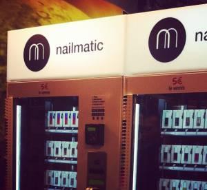 Nailmatic, le premier distributeur de vernis à Paris