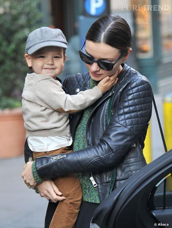 Telle mère tel fis : Flynn est adorable et très tendance !