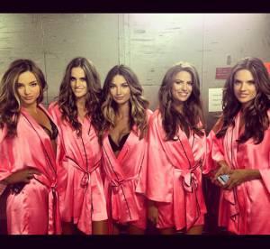 Miranda Kerr, Alessandra Ambrosio, Rihanna : Victoria's Secret, dans les coulisses tres sexy du show