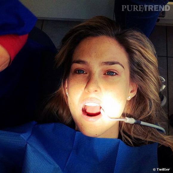 Bar Refaeli partage toute sa vie... même sa visite chez le dentiste. C'est peut-être trop.