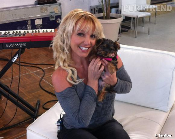 Britney Spears nous présente sa petite protégée : Hannah Spears.