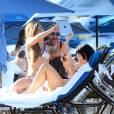 Lady Gaga se cache à Puerto Rico, méconnaissable en bikini.