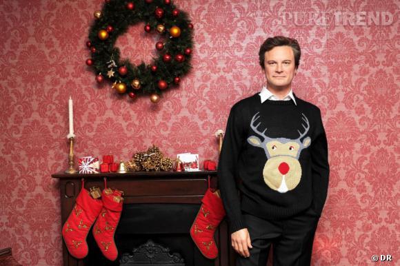 Colin Firth et son iconique pull de Noël dans Bridget Jones.