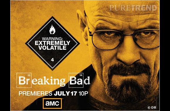 """Walter White (joué par Bryan Cranston) tient en haleine les spectateurs de """"Breaking Bad""""."""