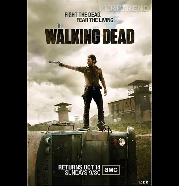 """Les zombies font recette : """"The Walking Dead"""" est la sixième série la plus téléchargée."""