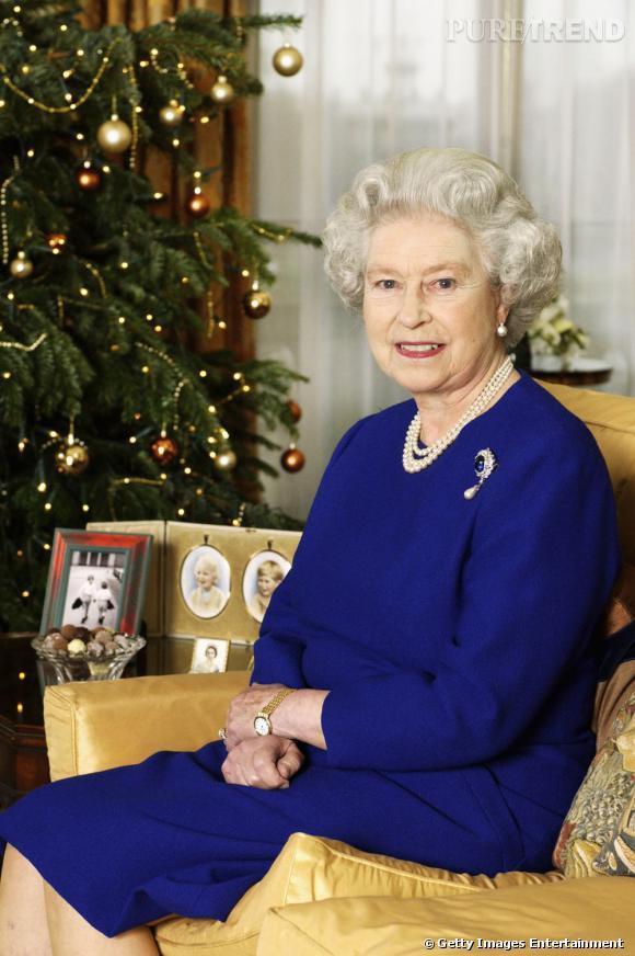 La Reine Elizabeth II et sa cultissime photo de Noël.