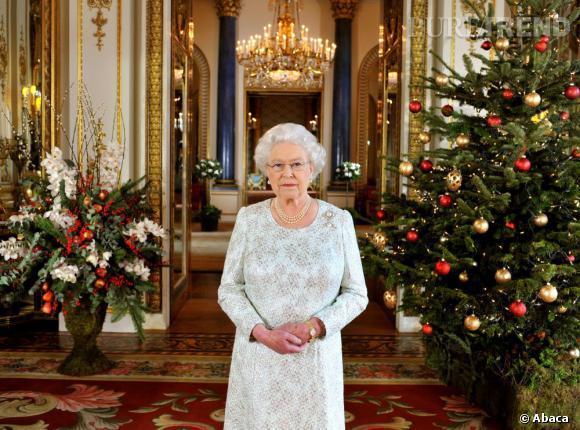 La Reine avant son discours annuel de Noël.