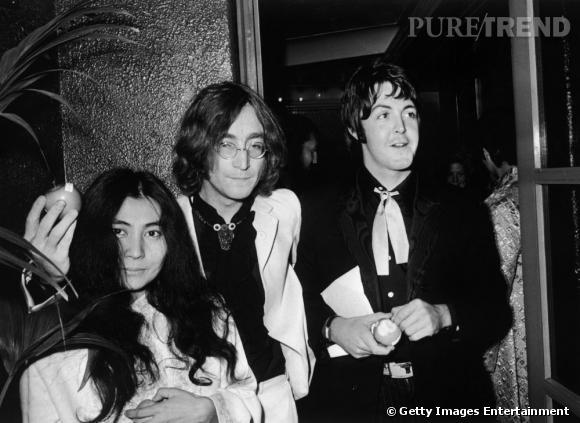 Yoko Ono confie au cours de l'interview que les Beatles avait peur de se transformer en groupe de Paul McCartney.