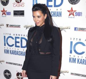 Kim Kardashian enceinte : les photos de son ventre rond