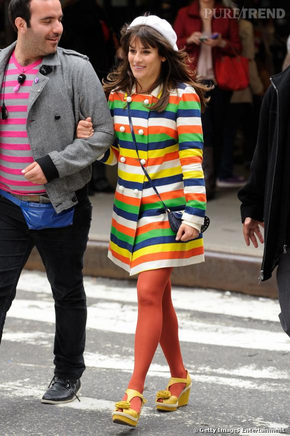 Avec Lea Michele, aucune hésitation, c'est tutti frutti !