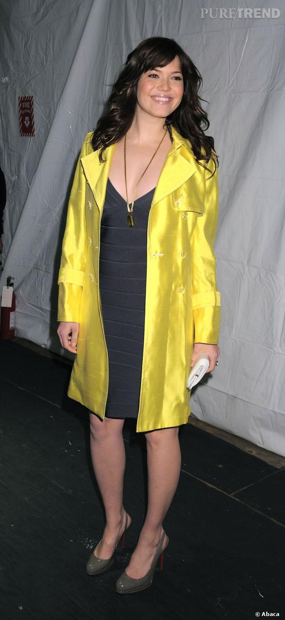 Mandy Moore, joli canari.
