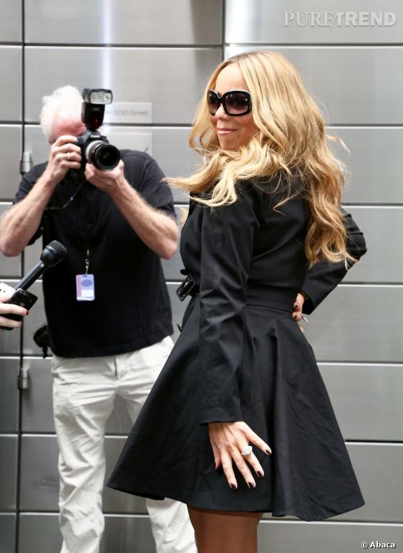 Mariah Carey continue d'alimenter le conflit avec Nicki Minaj.