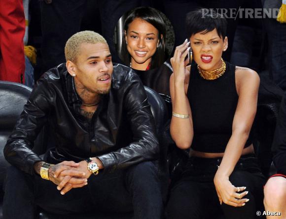 Chris Brown, Rihanna et Karrueche Tran, le triangle amoureux est toujours d'actualité.