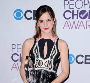 Emma Watson, l'audace multicolore des People's Choice Awards