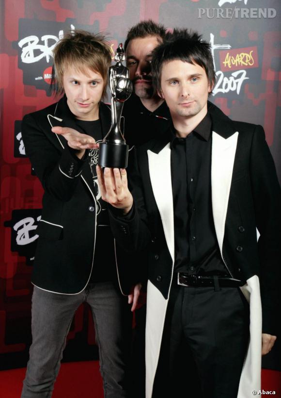 Muse est en lice pour le Brit Awards du groupe de l'année et montera sur scène au cours de la soirée.