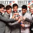 Les One Direction concourent dans la catégorie du Brit Awards 2013 du groupe de l'année et du succès global. En 2012 ils ont décroché celui du single de l'année.