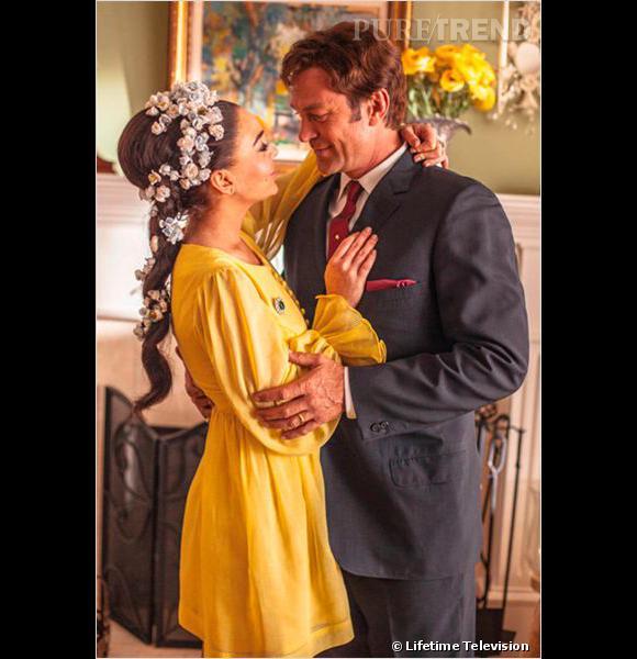 """Lindsay Lohan : Grant Bowler son partenaire dans """"Liz & Dick"""" revient sur leur collaboration."""