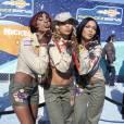 Les Destiny's Child en 2001 aux Kids Choice Awards. Pour cette soirée pour les enfants, elles se la jouent scouts sexy.