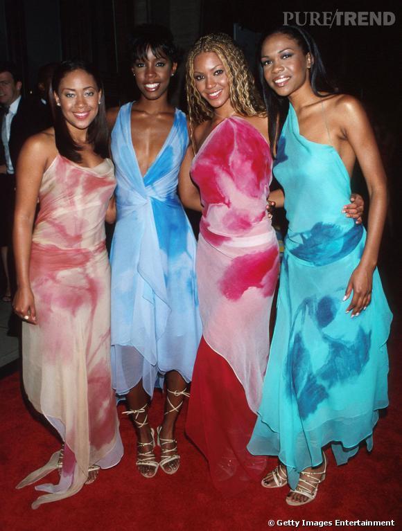 Les Destiny's Child en 2000 aux CFDA Fashion Awards.