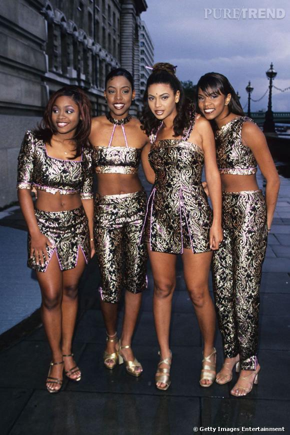 Destiny's Child : la rétro look hautes en couleurs.