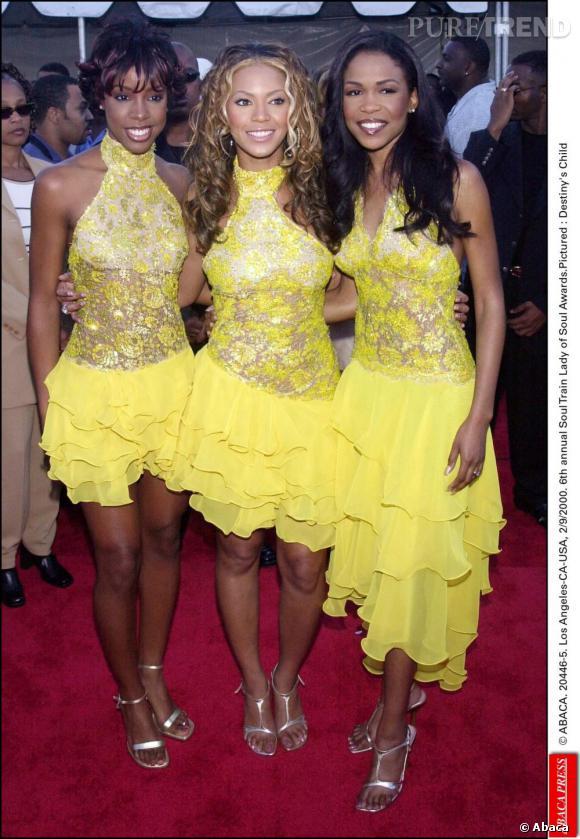 Les Destiny's Child en 2000. De vrais rayons de soleil.