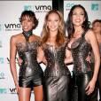 Les Destiny's Child en 2000 aux MTV Video Music Awards. Total look cuir et strass !