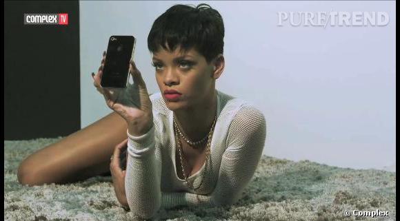 Rihanna : dans les coulisses de son shooting pour Complex magazine.