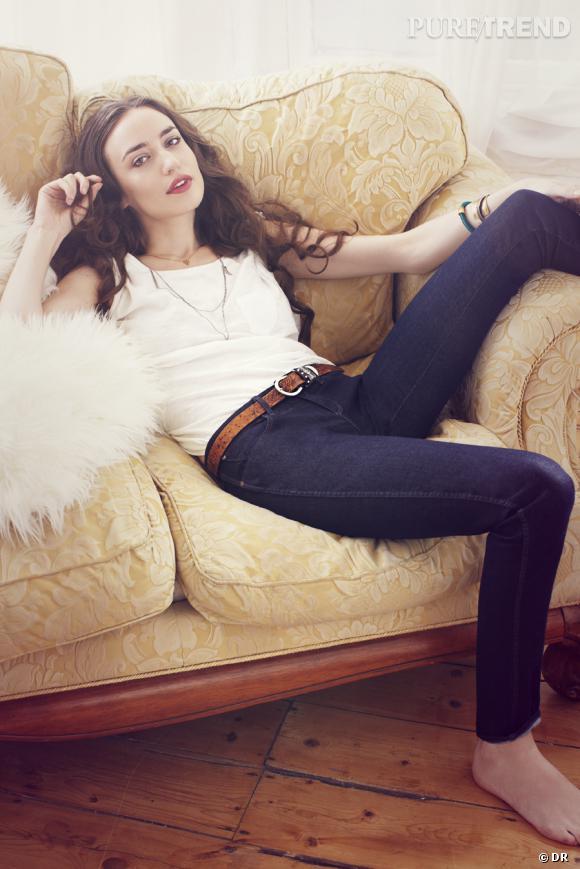Elizabeth Jagger égérie des jeans Denim Spa de Wrangler.