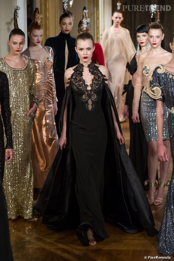 Défile Haute Couture Alexis Mabille Printemps-Eté 2012.