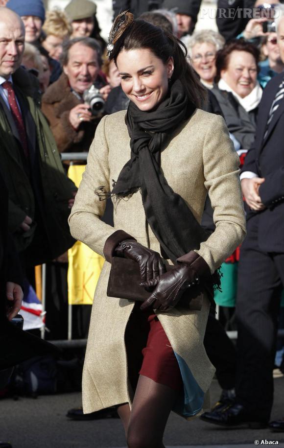 Kate Middleton a bravé la neige ce week-end pour assouvir une petite fringale sucrée !