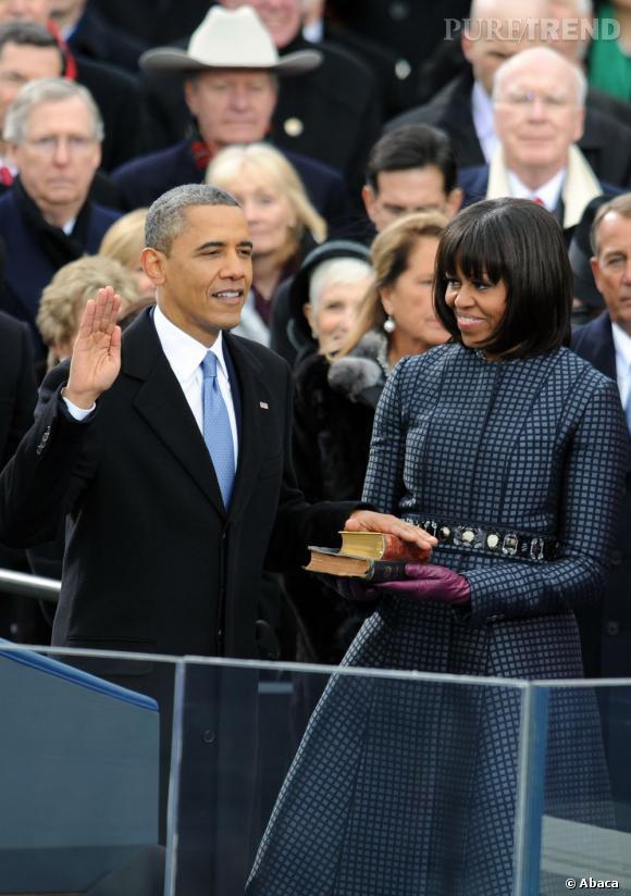 Barack Obama a prêté serment pour la deuxième fois ! Après sa première investiture en 2009, on se doute que le président commence à avoir de l'expérience. Et on remarque que si en 2013 il opte pour une cravate bleue...