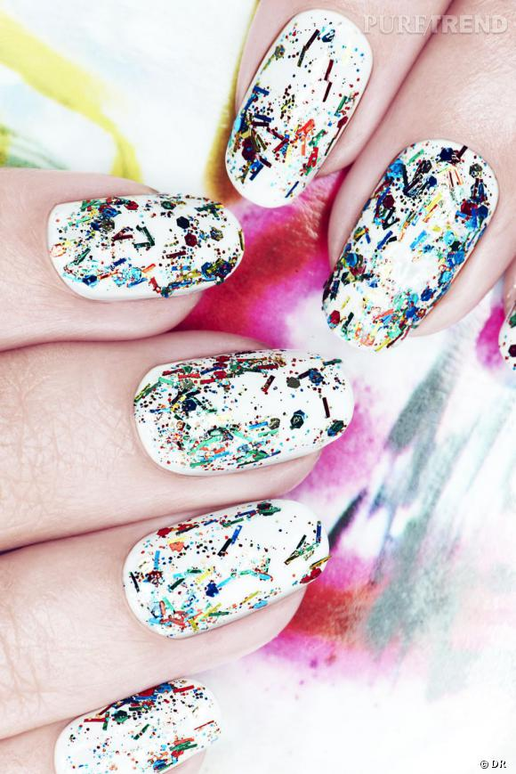 Le vernis Graffiti de Nails Inc., parfait pour s'initier au street art.